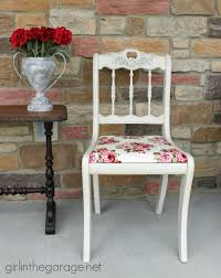Shabby Chic Chair Makeover   Girl in the Garage®