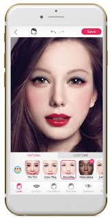 the flagship app youcam makeup is hugely por among millennial beauty wcit visitors are also invited explore the innovative selfie apps