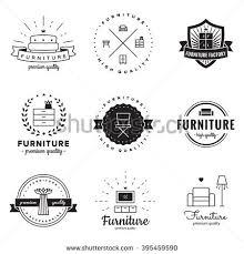 vintage furniture logo. Exellent Vintage Furniture Logo Vintage Vector Set Hipster And Retro Style Perfect For  Your Business Design Intended Vintage Logo N