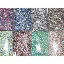 Superb Epoxy Coat Paint Color Flakes