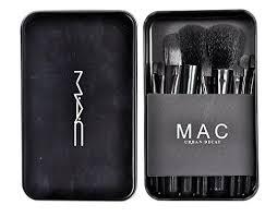 mac makeup brush set 12pcs set