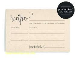 Food Recipe Template Recipe Cards Template Free Card Template Free Recipe Templates To