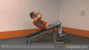 Weight Training  How To Do SitUps On The Bench  YouTubeBench Ab V Ups