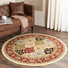 Safavieh Lyndhurst MultiRed 5 Ft X Round Area Rug