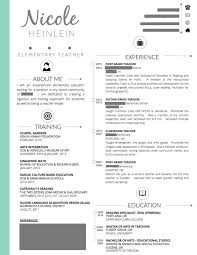 Resume Teacher Template Interesting Gallery Of Best 28 Teaching Resume Ideas Only On Pinterest Teacher