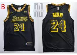 Kobe Sportswear Size Chart Kobe Bryant 24 Swingman Basketball Jersey Pt 1