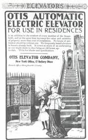 9 revolutionary elevators from the otis elevator company popular otis elevator advertisement 1910
