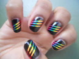 images of pretty nail polish designs | Nail Polish Anonymous: Somewhere  there's a Rainbow