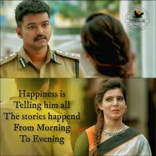 Vijay Ilayathalapathy Thalapathy Theri Samantha Visam Movie