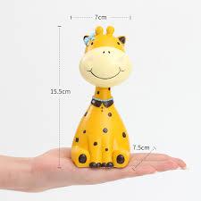 Stuffed Animal Display Stand 100pc Resin Glasses Stand Decorative Zebra Giraffe Craft Animal 86
