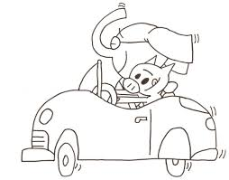 Small Picture elephant and piggie coloring pages best photos of gerald and