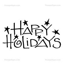 happy holidays white. Interesting White Zoom In Happy Holidays White L