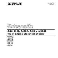 best caterpillar engines products on wanelo caterpillar c10 c12 3406e c15 and c16 truck engine electrical system manual