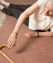 Image result for old woman falling over