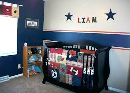 baseball nursery bedding baby sports themed boy themes