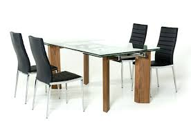 modern round glass top dining table medium size of dining room dinner tables with chairs small modern round glass top dining table