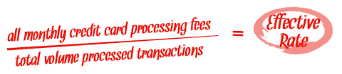 Processing Fees Rates Authorized Credit Card Solutions