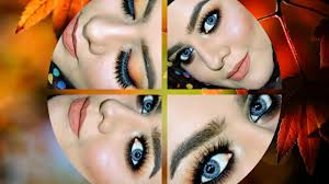 how to chocolate brown smokey eye makeup look video dailymotion