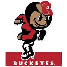 2in Buckeyes State 1 Sign Table Mascot Canada Party X Ohio City 7 8in
