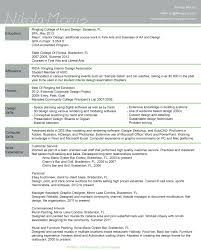 Resume For Interior Designer Template Interior Design Resume Des