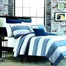 navy and white striped bedding blue quilt king stripe duvet cover uk navy and white striped bedding