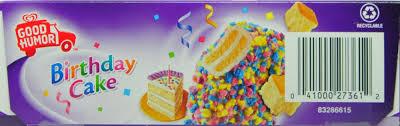 Good Humor Birthday Cake Ice Cream Bars Review Cake Image Diyimagesco