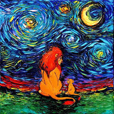 395 best vangogh inspired images on van gogh starry night painting technique