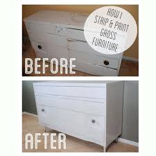How I Strip and Paint Gross Furniture