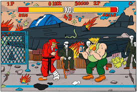 what would street fighter ii characters look like today if they