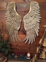 it metal angel wings wall