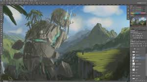 photo tutorials matte painting walkthrough part 1 you