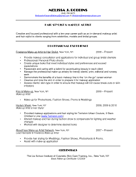 Freelance Writer Resume Sample Special Effects Makeup Resume Job And Resume Template 79