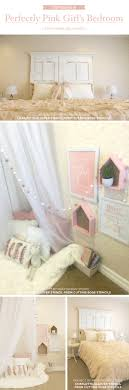 Pink And White Girls Bedroom Stenciling A Perfectly Pink Girls Bedroom A Stencil Stories
