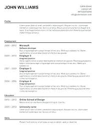 Free Blank Resume Enchanting Free Resume Print And Download With Free Resume Builder No Cost