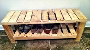 diy pallet shoe rack. Pallet Shoe Rack Diy U