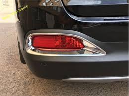 <b>ABS Rear Tail</b> Fog Tailgate lamp Light Molding Garnish Cover Trim ...