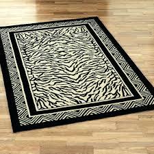 brown zebra rug s target print