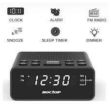 radio for office. USB Alarm Clock Radio, Digital With Phone Charger, FM Radio For Office L