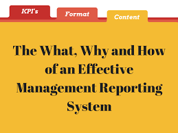 Effective Employee Management Strategy Extraordinary The What Why And How Of An Effective Management Reporting System