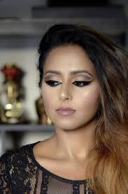 arabic inspired cutcrease makeup look