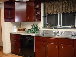Kitchen Cabinets Stain Colors Staining Kitchen Cabinets With Bolder Color Island Kitchen Idea