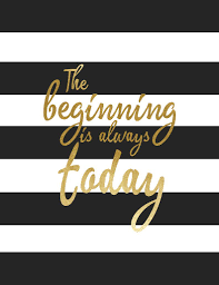 The Beginning Is Always Today Crafts Small And Easy Kate Spade