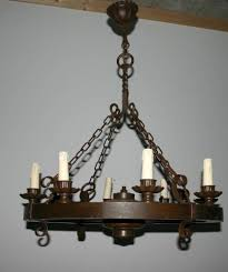 round wrought iron chandelier tendr with wrought iron lights australia image 11 of 15