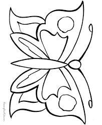 Small Picture butterfly coloring pages