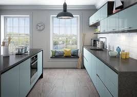 Of Blue Kitchens Integra Astral Blue Kitchen Units Magnet