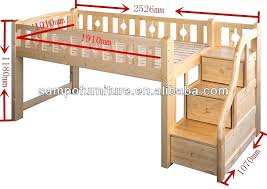 Extraordinary Kids Bed With Stairs Bunk Beds Cool Table