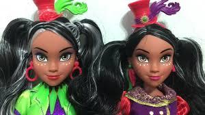 Disney Descendants Neon Lights Dolls Disney Descendants Neon Lights Ball Freddie Doll Review Signature Comparison