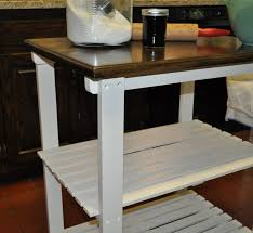 Redoing A Small Kitchen Remodelaholic Small Table Kitchen Island Redo Guest