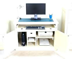 hidden office desk. Office Desk Hidden Compartment Hideaway Computer Desks For Home Workstation