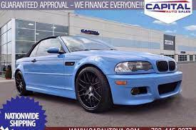 Find new and used 2016 bmw m3 classics for sale by classic car dealers and private sellers near you. Used 2005 Bmw M3 For Sale Near Me Edmunds